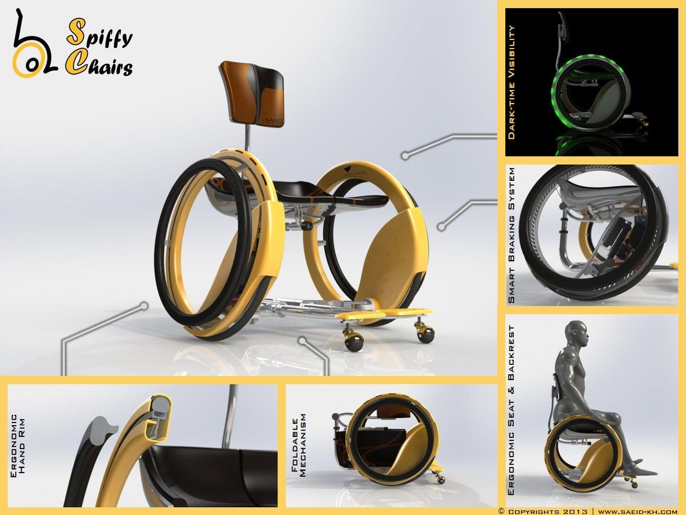 spokeless smart wheelchair an innovative wheelchair design with rh pinterest com Unique Modern Designs Wheelchair Unique Modern Designs Wheelchair