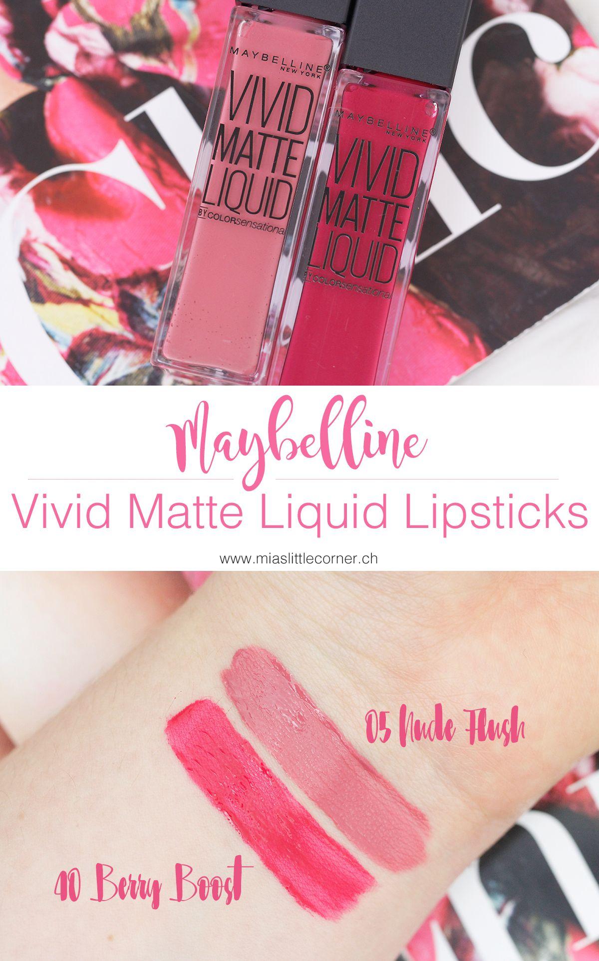 Maybelline Vivid Matte Liquid Lipsticks Vivid Matte Liquid