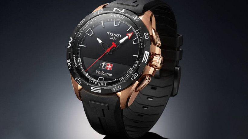 Tissot T Touch Connect Solar Hybrid Is Swatch S Long Awaited Smartwatch In 2020 Tissot T Touch Smart Watch Tissot