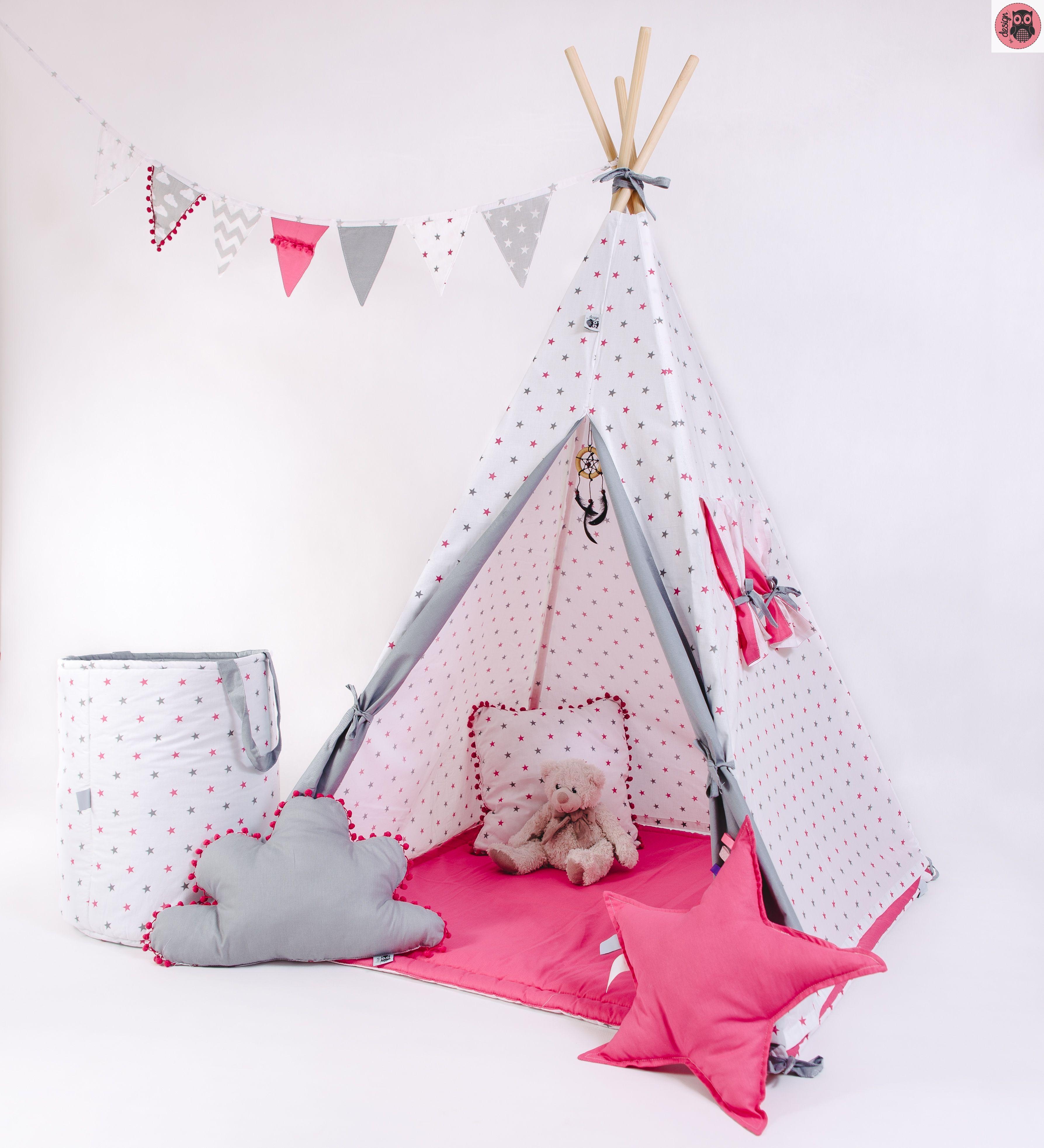 Namiot Tipi Rozowy Dla Dziewczynki Toddler Bed Hanging Chair Home Decor