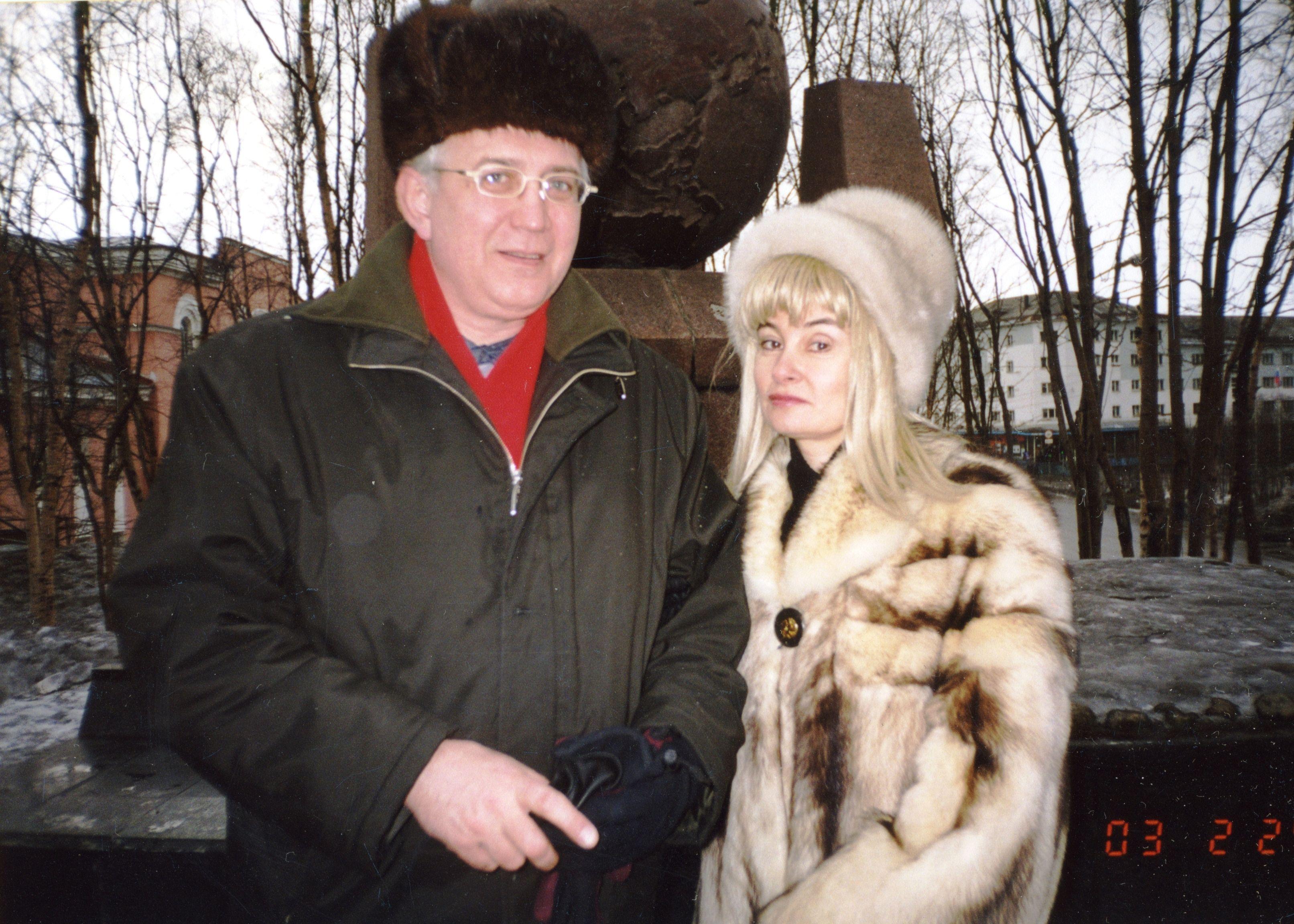 Мурманск, 2003, обелиск англо-штатовским морским конвоям 1943-1945 годов