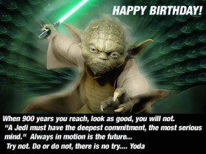 Yoda Birthday Quotes. QuotesGram | Star wars | Star wars ...