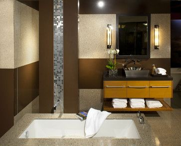 Modern Bath By Swanson Interior Design Group
