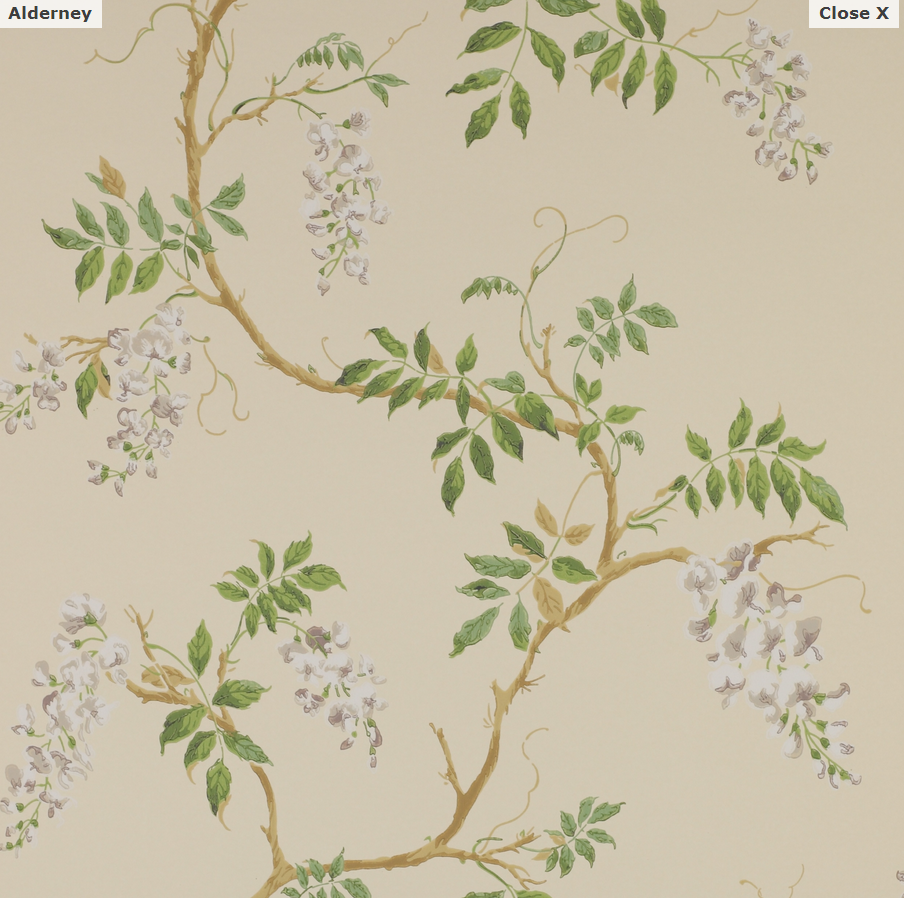Alderney Wallpaper - Colefax and Fowler