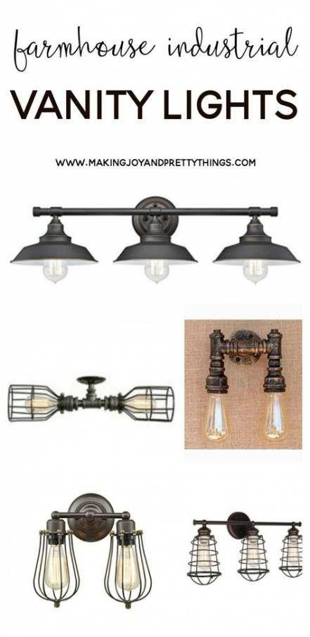 Photo of 27 Ideas Farmhouse Industrial Bathroom Light Fixtures