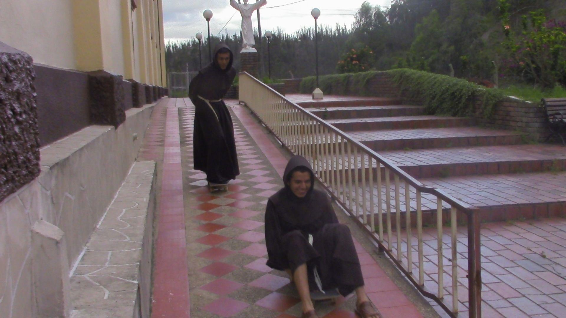 Yujuuu! Franciscan, Monk, Friar