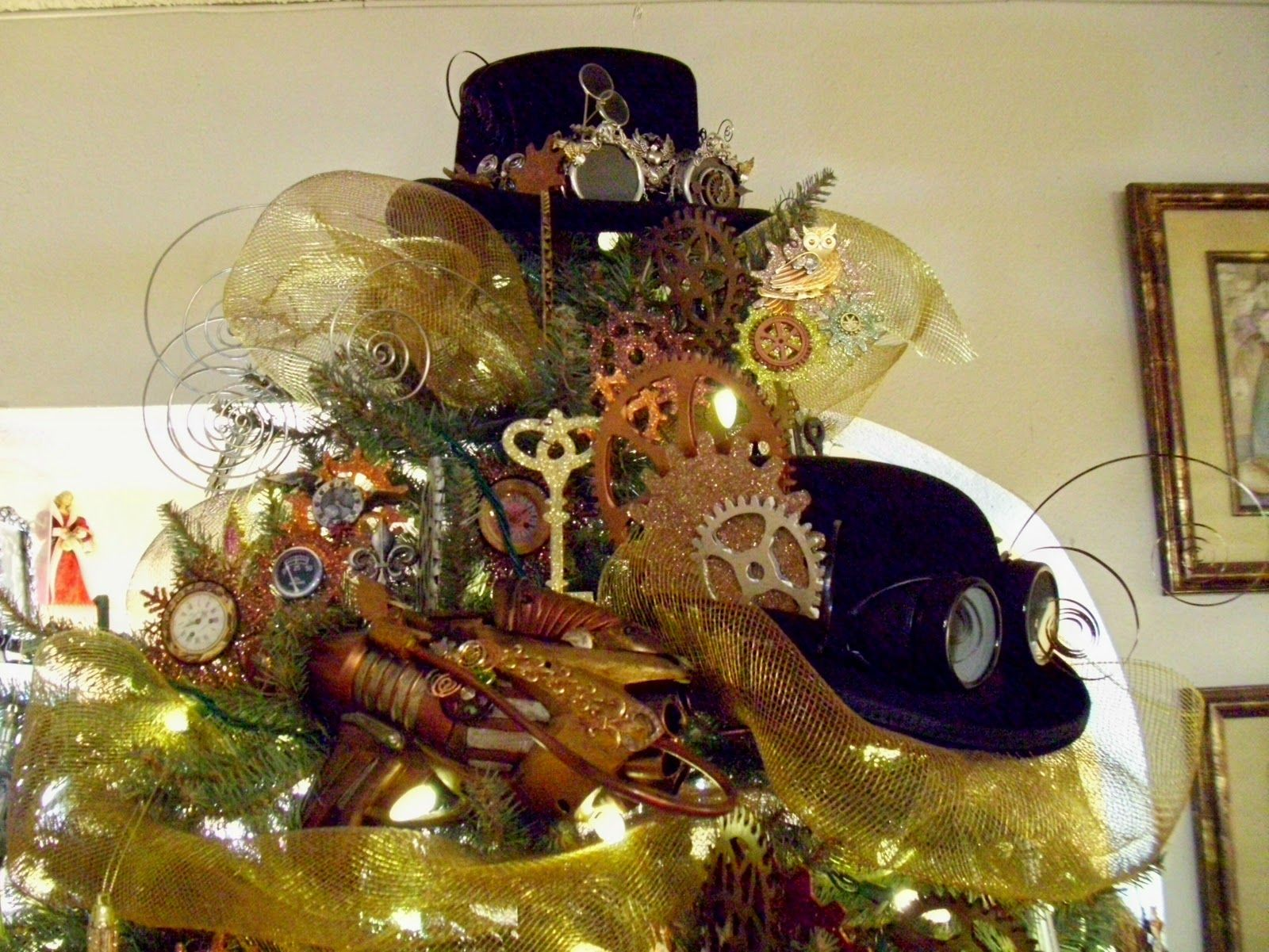 Steampunk Ideas Steampunk Christmas Tree Here Are A Few Of My Pics I