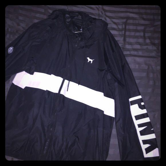 VS PINK windbreaker jacket | Windbreaker jacket, Windbreaker and ...