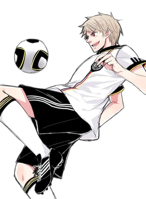 Football Or Soccer Depending On Where You Live Prussia Hetalia Hetalia Anime