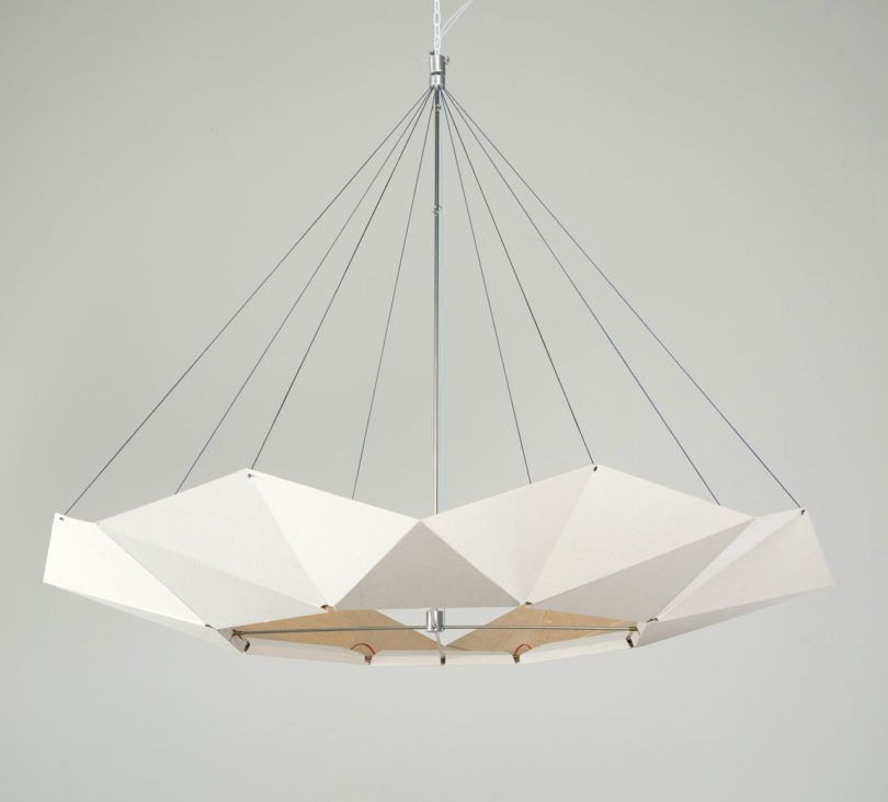 An adjustable moving lamp inspired by movements in nature pendant an adjustable moving lamp inspired by movements in nature design milk aloadofball Choice Image
