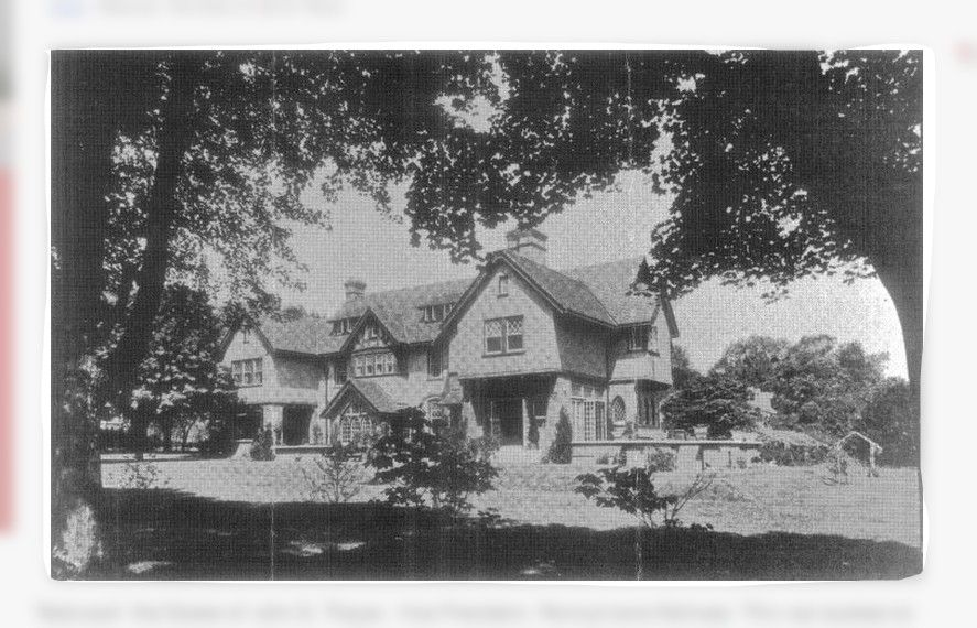 Redwood home of John.B.Thayer