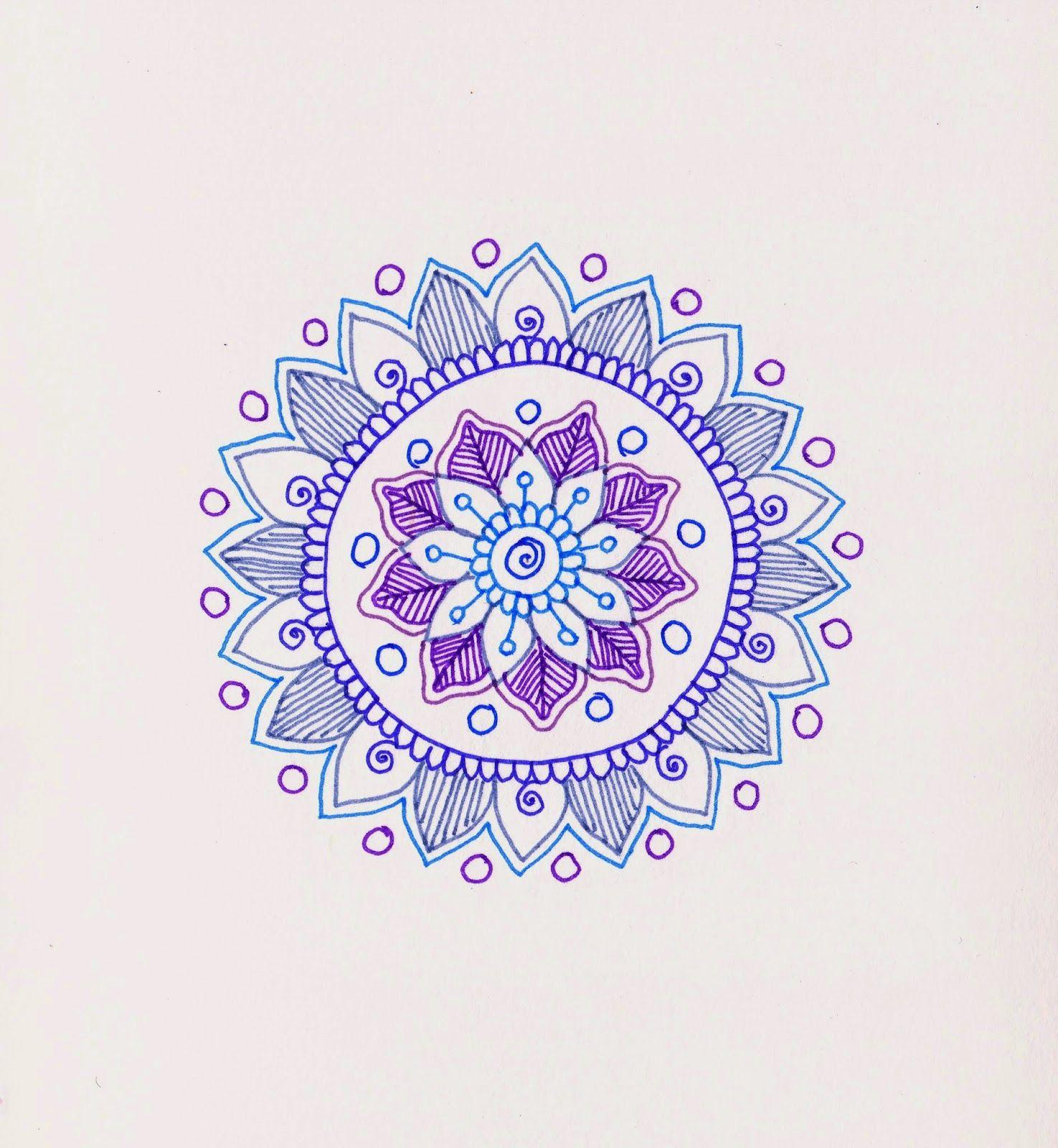Step By Step Tutorial For Making Mandalas Mandala Doodles
