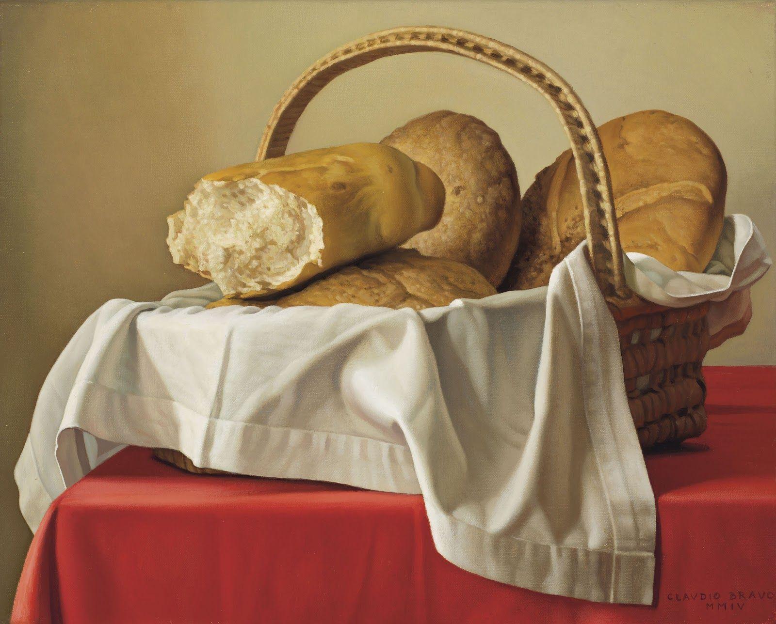Claudio Bravo Camus 83rd Birthday Hyperrealist Painter Contemporary Modern Art Bread Painter