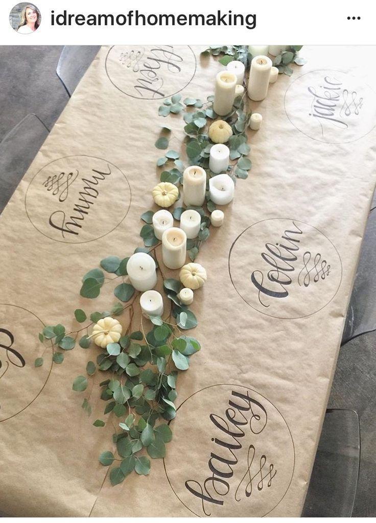 Es würde Spaß machen, wenn Gäste darauf zeichnen und Nachrichten schreiben. ... #darauf #gardendecorationideas #gaste #machen #nachrichten #schreiben #wurde #zeichnen #autumnfoliage