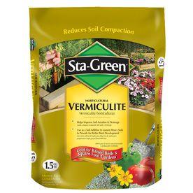 Sta Green 1 5 Cu Ft Vermiculite Lowes 15 97 Gardening