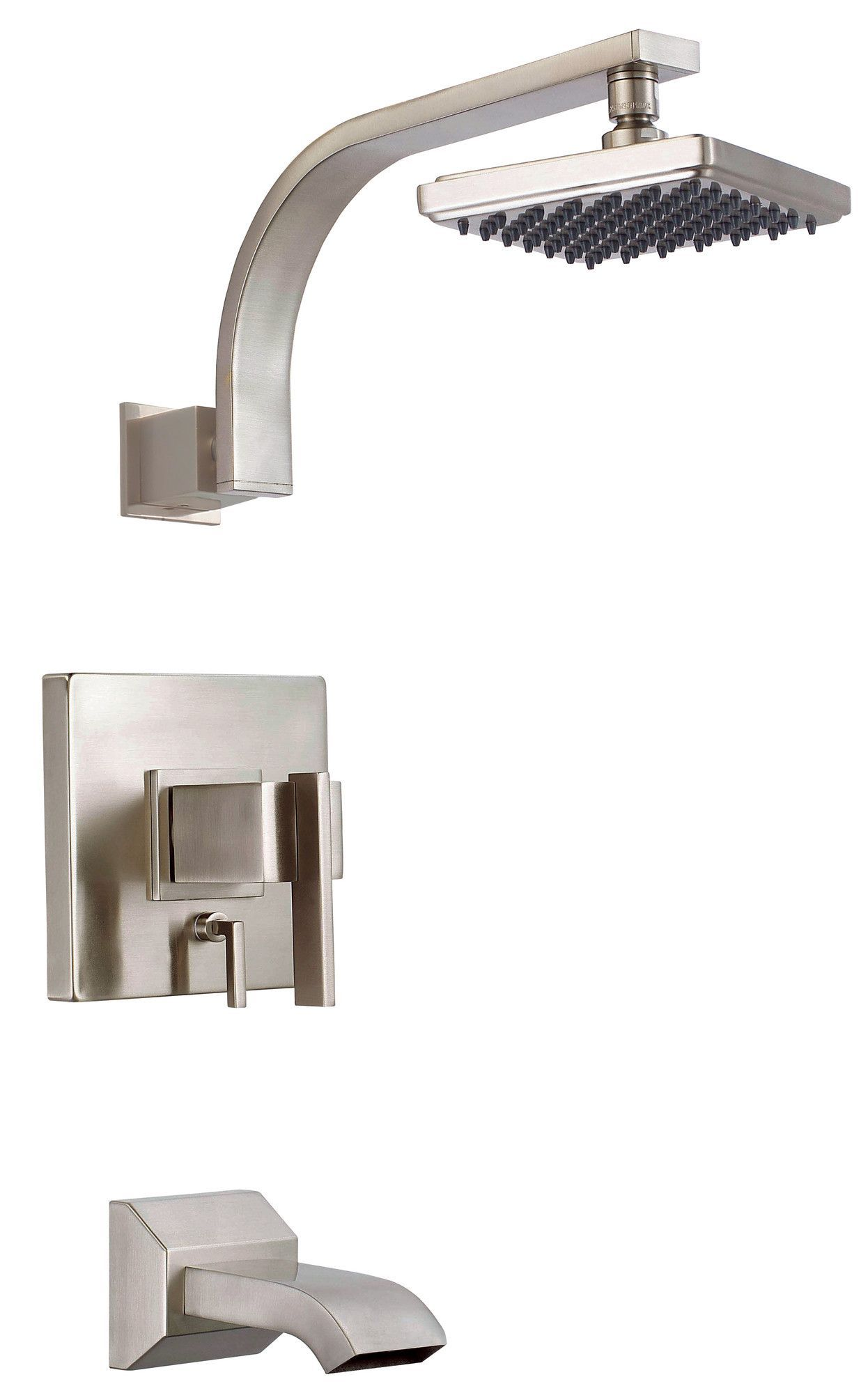 Sirius Tub Faucet and Shower Head with Lever Handle | Products ...