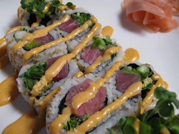 Spicy Tuna Roll is listed (or ranked) 4 on the list The Most Delicious Types of Sushi Rolls