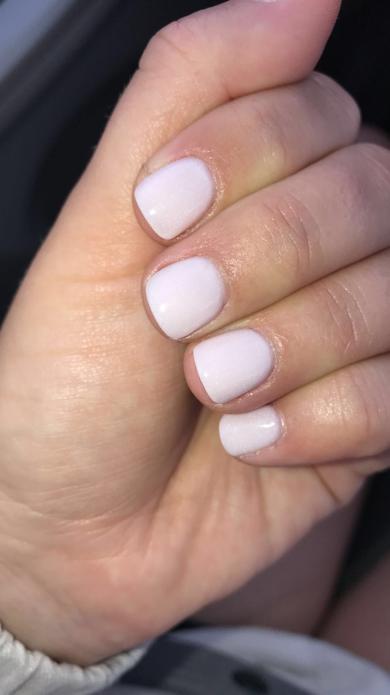 "NuGenesis Dip Powder in ""White Lily"" 