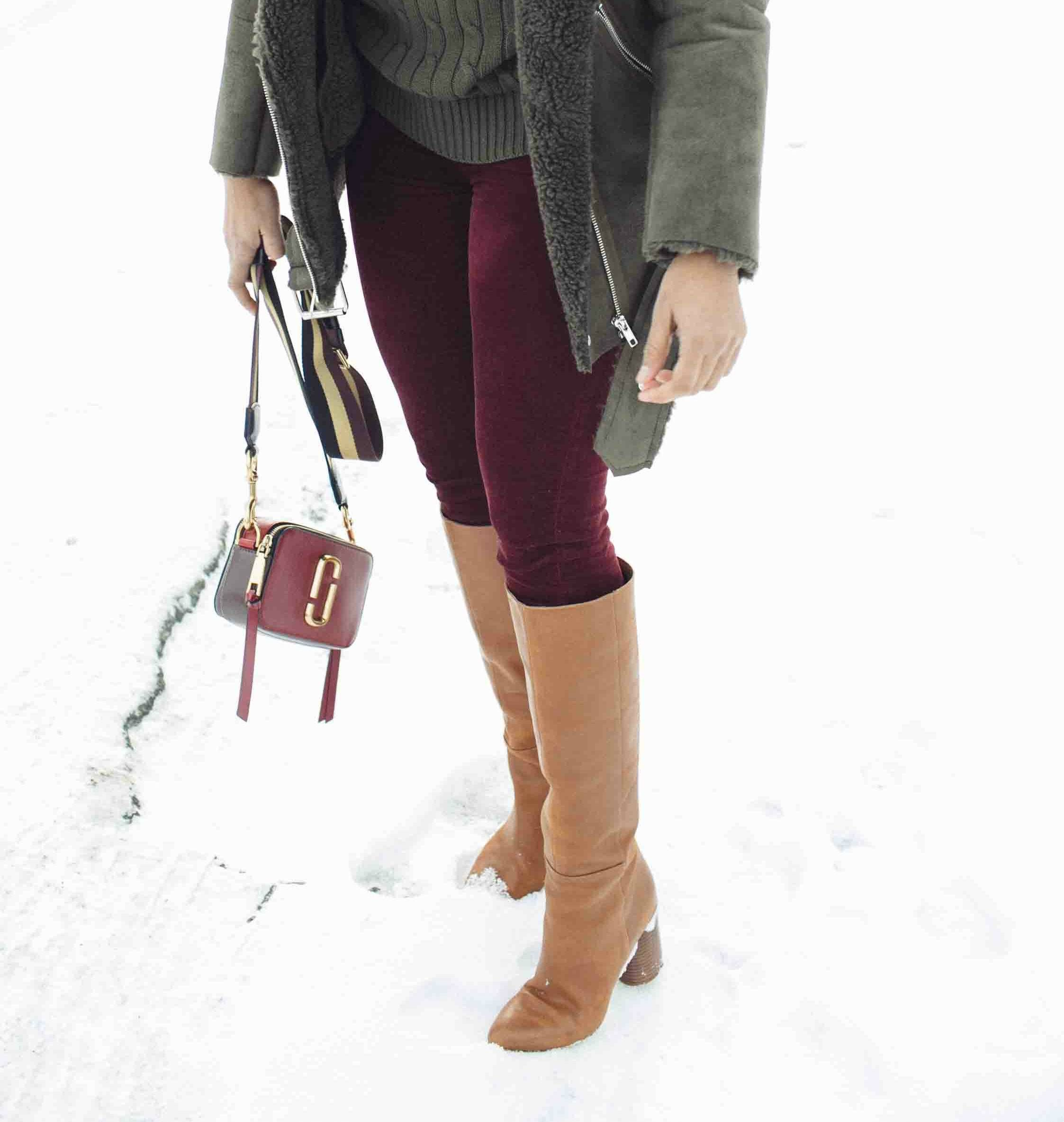 28accf1bb90b Lifestyle Blog Dreaming Loud wearing Nine West Christie Knee high heeled  boots