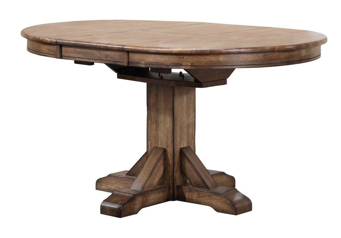Rutledge Extendable Rubberwood Solid Wood Dining Table Dining Table Solid Wood Dining Table Wood Dining Table