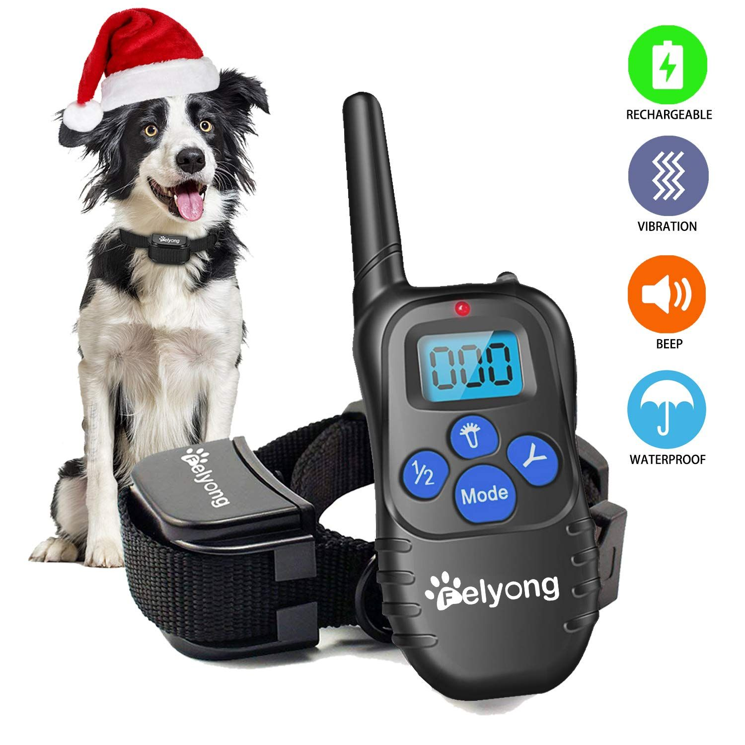 Felyong Dog Training Collar With Remote Rechargeable Waterproof