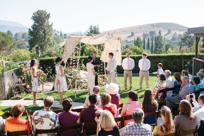 California Diy Wedding Leilani And Brandon S 10 000 Wedding California Wedding Diy Wedding On A Budget Wedding Officiant Script