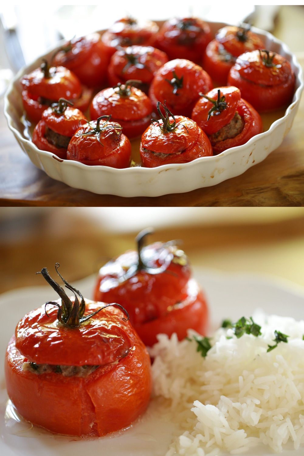 Beth S Tomates Farcies Recipe Stuffed Tomatoes Video Recipe Video In 2020 French Cooking Recipes French Recipes Authentic Easy French Recipes