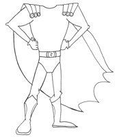 Create your own superhero.... Perfect for our 6th grade