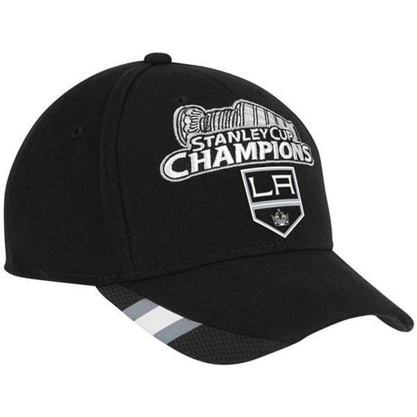 Reebok Los Angeles Kings 2012 NHL Stanley Cup Final Champions Flex Hat -  Black 80dd6e3b6a93