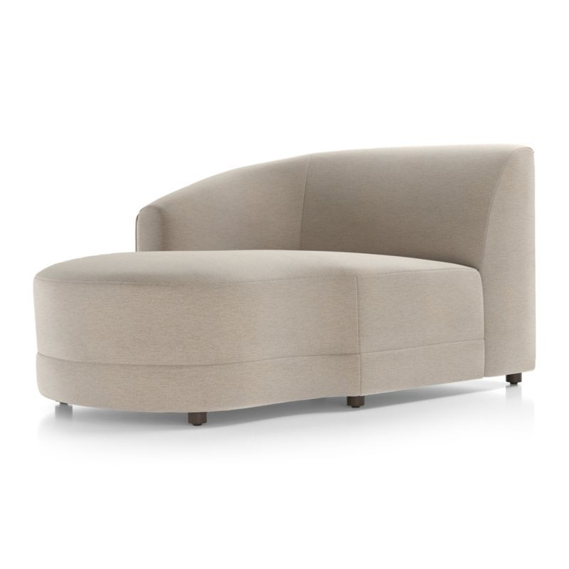Infiniti left arm chaise upholstered furniture crate