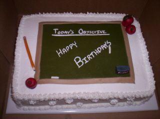 Teacher Cake Cakepins