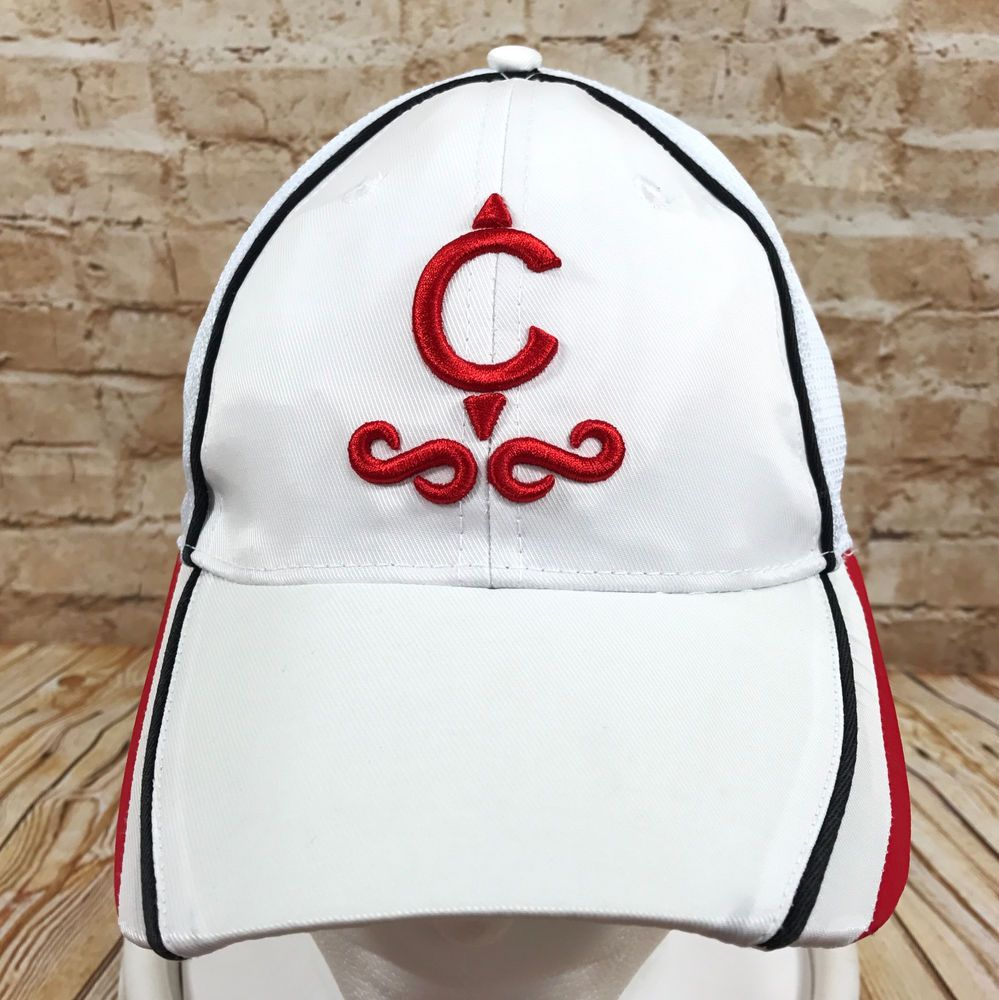 Camacho Cigars White Baseball Cap Hat Fitted  #CamachoCigars #BaseballCap
