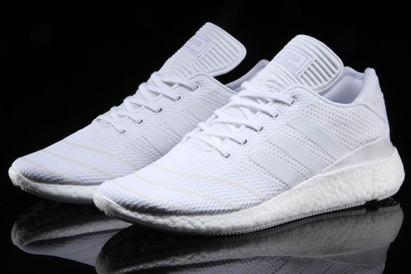 uk availability f81fc c52b1 adidas Busenitz Pure Boost Primeknit Triple White - Sneaker Bar Detroit