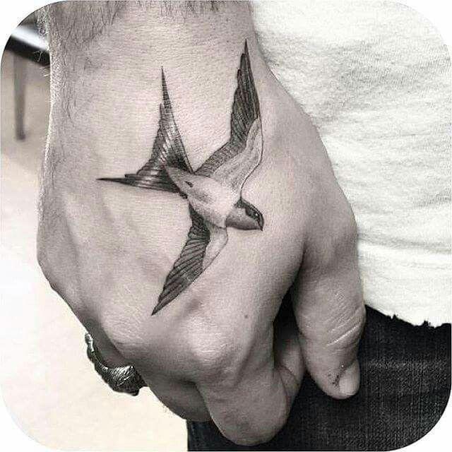 Pin By Berti On Tattoo Hand Tattoos Bird Tattoo Men Tattoos