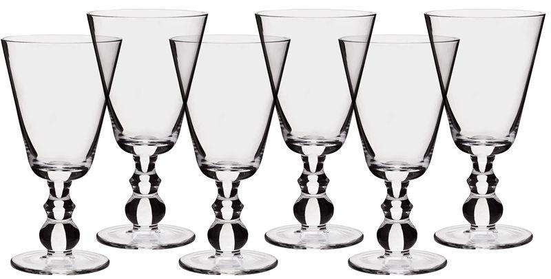 Neptune Accessories Glasses - Greenwich Red Wine Glasses - Box Of 6