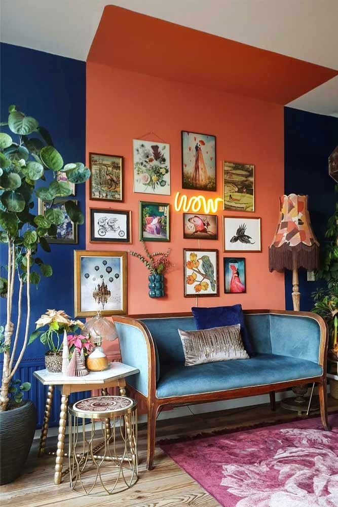 Photo of Retro Living Room Decorating Idea
