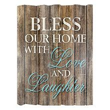 Stratton Home Decor Live Laugh Love Wood Wall Art 3 Piece