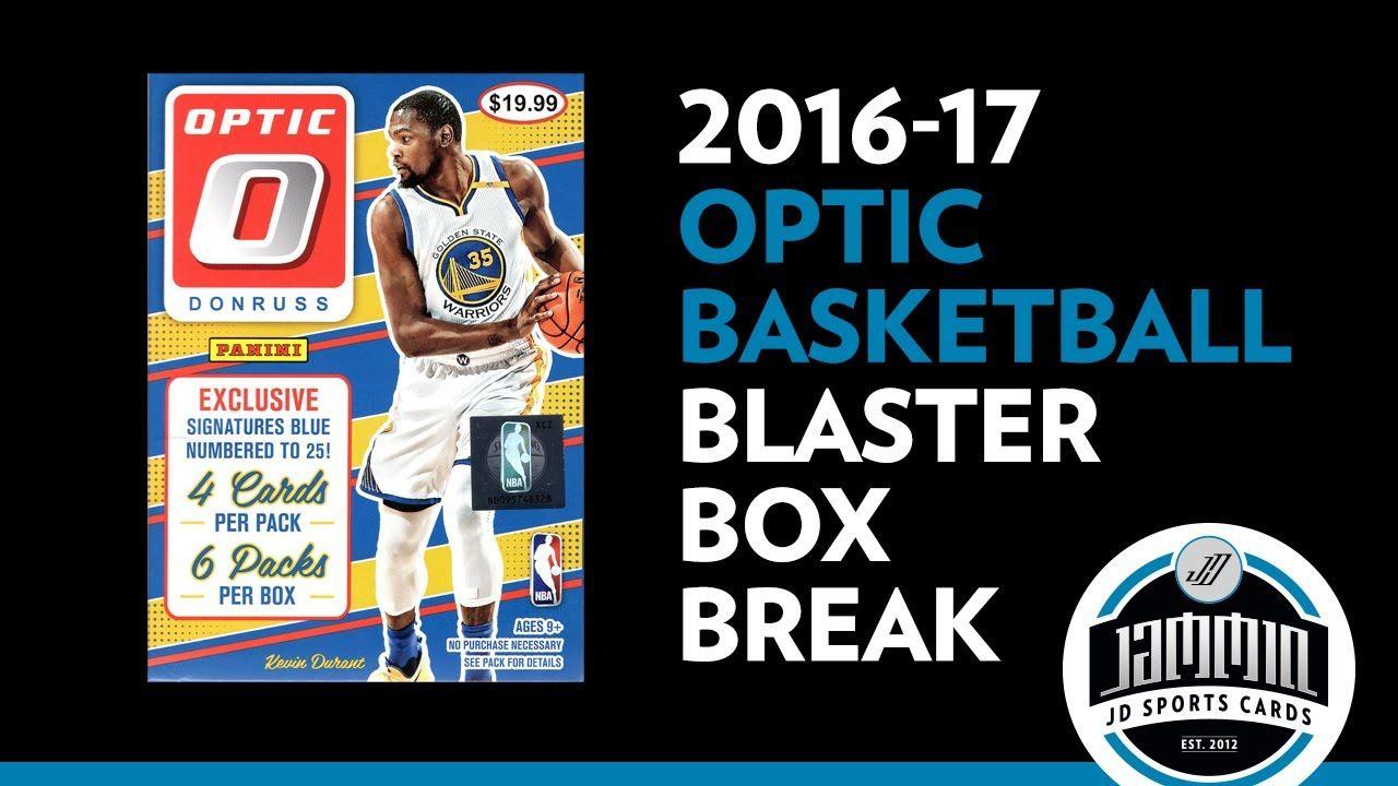 201617 panini optic basketball blaster box break sports