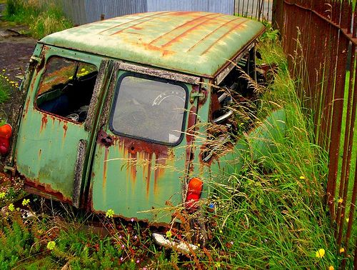 Austin Mini Countryman Abandoned Cars Mini Countryman Rust In Peace