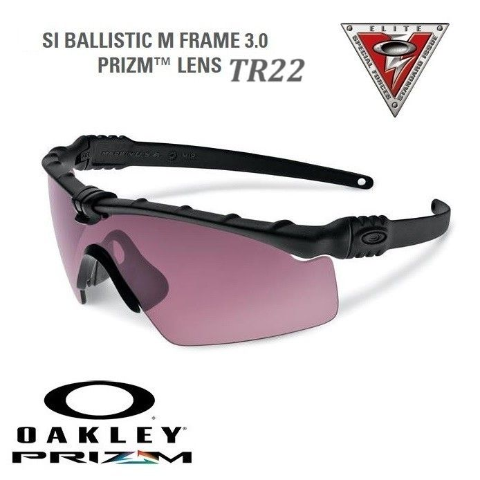 Oakley PRIZM TR22 SI Ballistic M Frame AGRO 3.0 - Black | Oakley SI ...