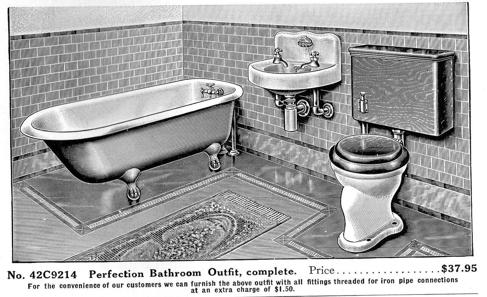 35+ Sears bathroom info