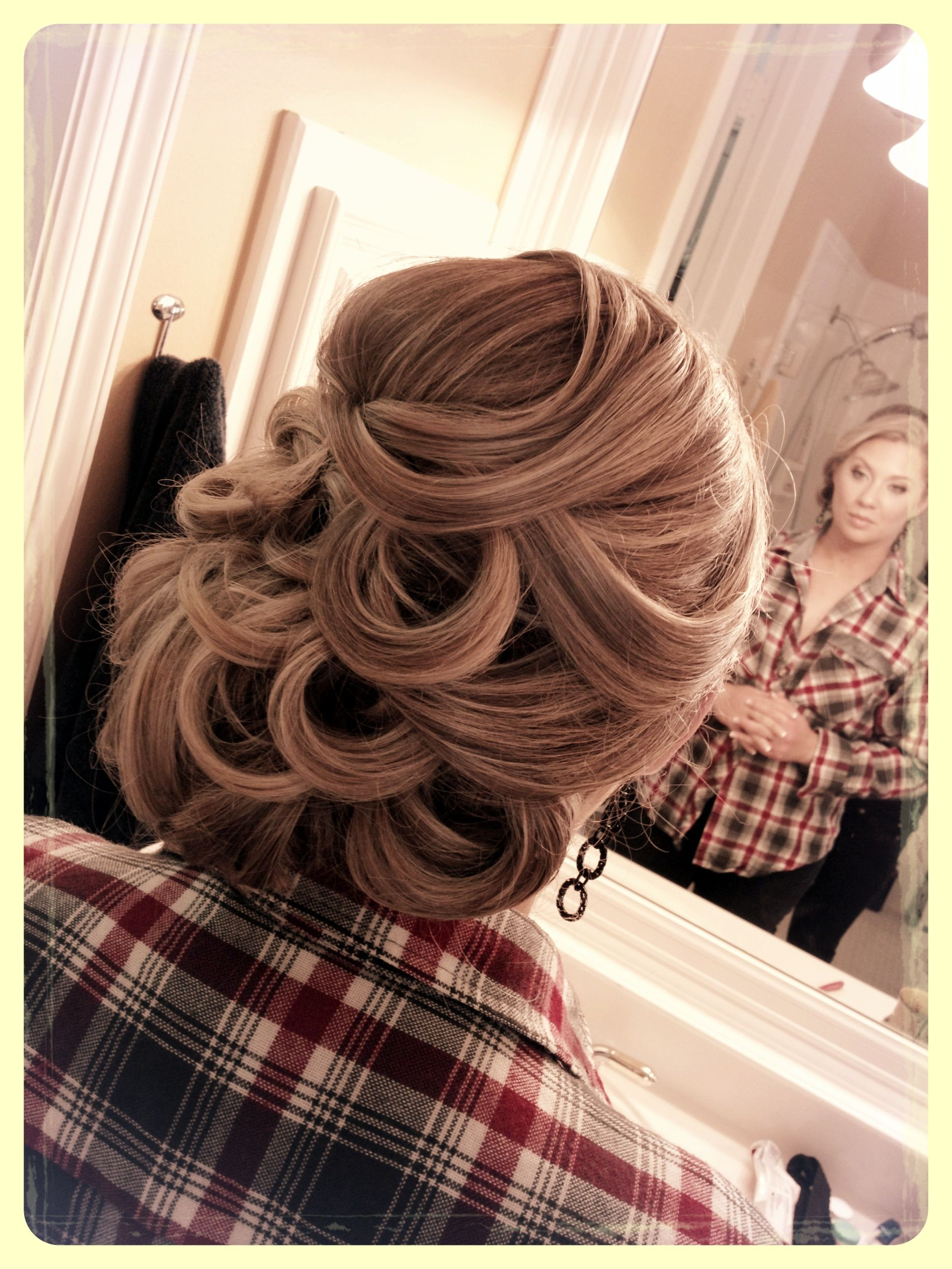 Vintage hollywood glam the new updos hairstyles hair pinterest