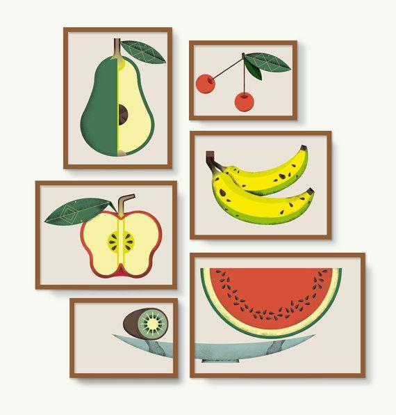 FRUITS IN A FRUIT BASKET - FRUTAS EN FRUTERO. Rachel´s Puzzle Things.