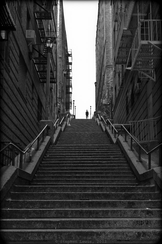 167th Street Bronx New York Stairs