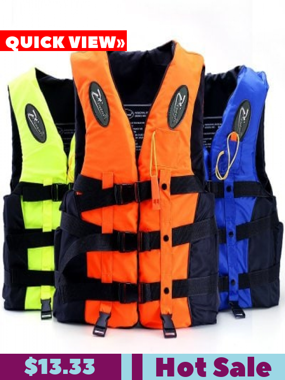 Professional Swimming Life Jacket Drifting Snorkeling Fshing Suit Buoyancy Vest