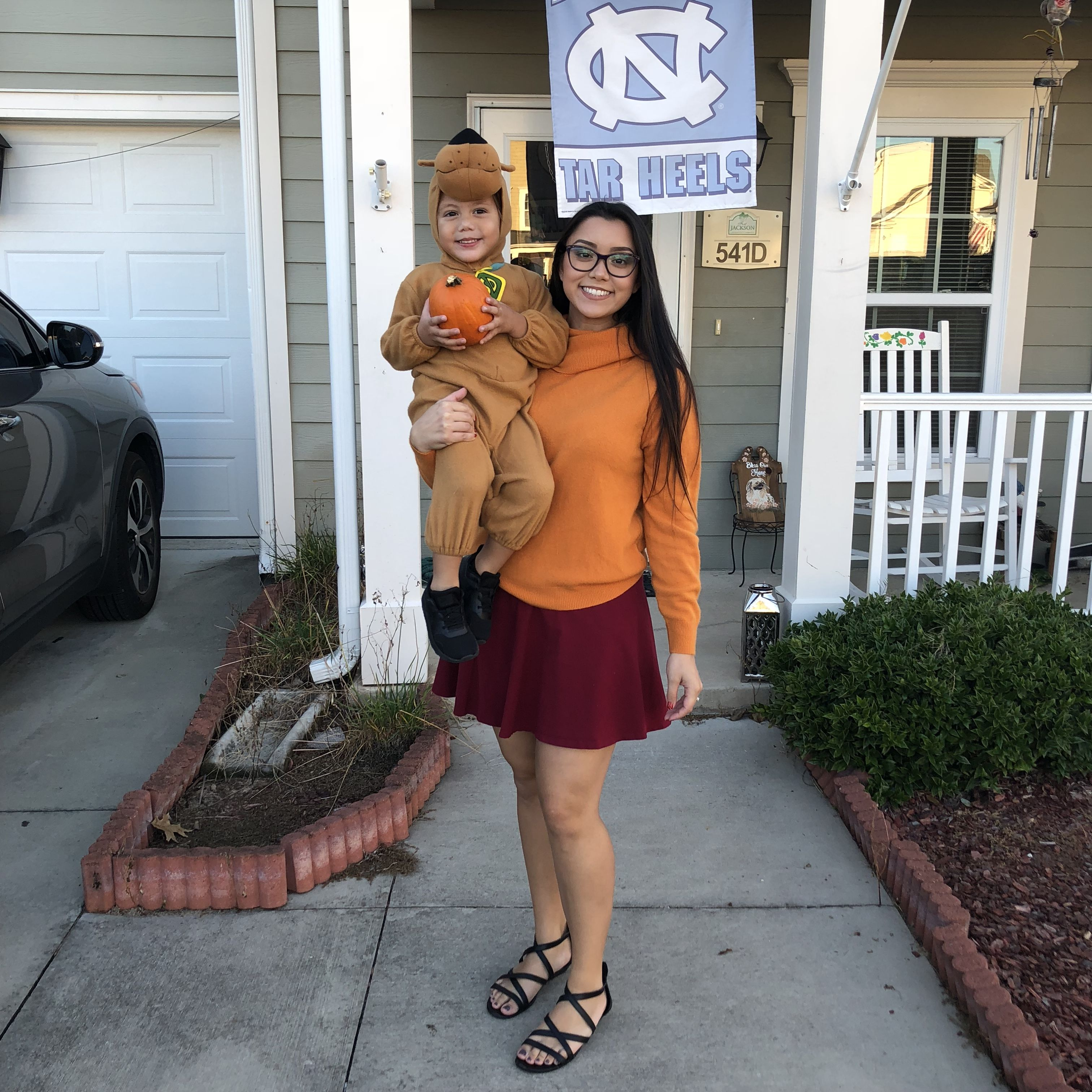 Halloween 2020 Son Scooby Doo and Velma, Mother and son Halloween costume, couples