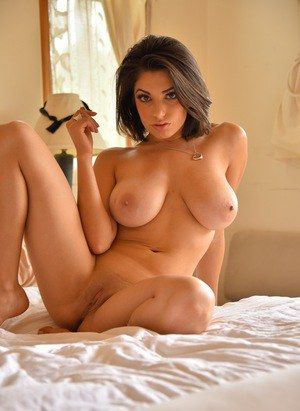 Babe brunette breast Big