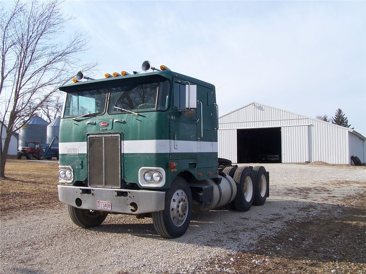 Peterbilt 352 Cabover Semi Trucks - Year of Clean Water