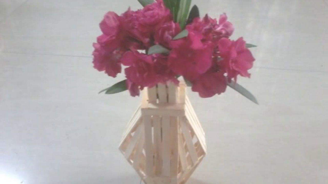 How to make a homemade flower vase best vase diy home