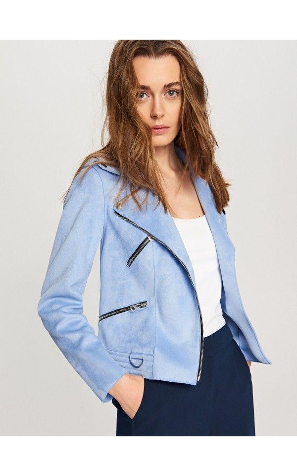 Rabatt bis zu 60% verschiedenes Design Farbbrillanz LADIES` JACKET, Jacken, Mäntel, blau, RESERVED | Модные луки ...